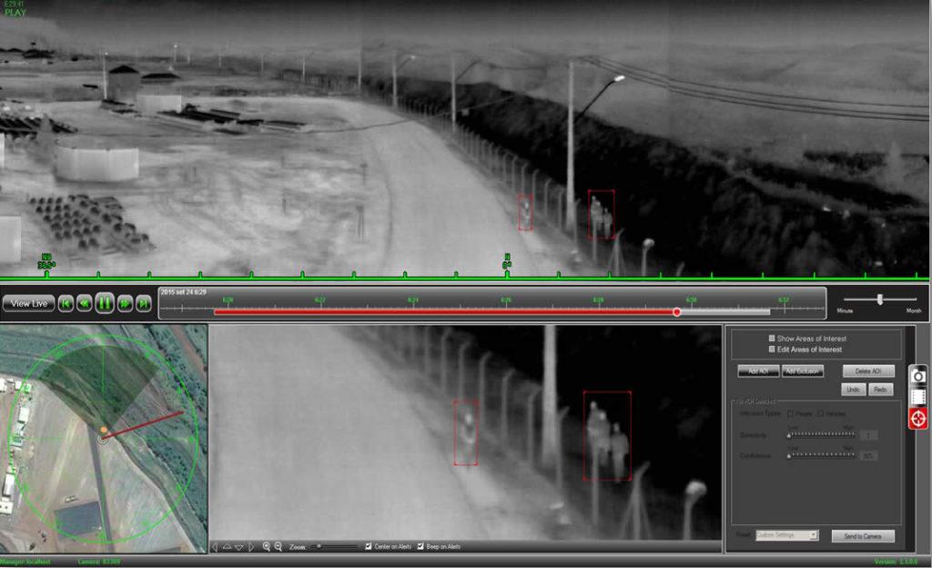 Radar Térmico fornece imagens captadas pelo calor